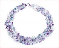 Ogrlice iz poldragih kamnov